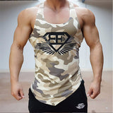 Men's Muscle Fitness Top Tank