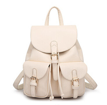 The Latest PU Women Leather Backpacks