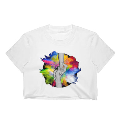Need a Hand? - Women's Crop Top