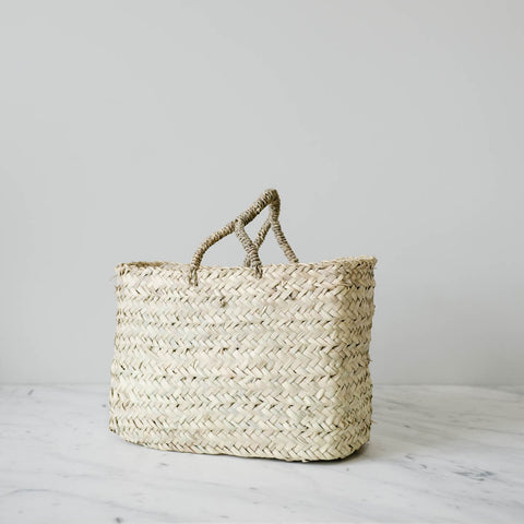 Woven Tote Basket