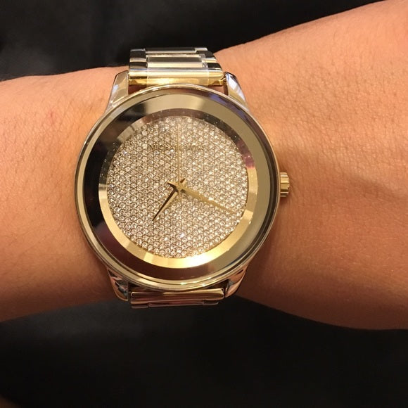 53e358965a42 Michael Kors MK6209 Kinley Pave Gold Tone Ladies Watch – Branded Store  Philippines
