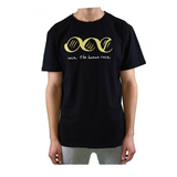 one race. the human race. black t shirt