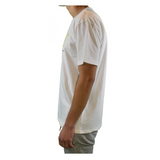 one race. the human race. white t shirt