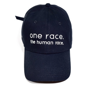 one race. the human race. Dad Hat