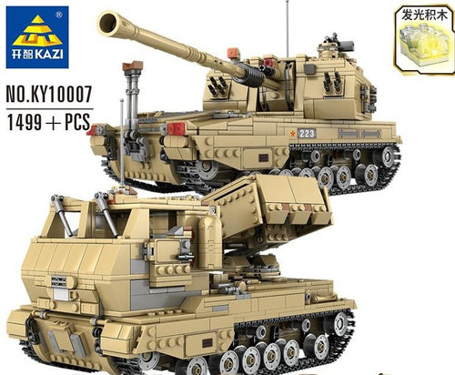 Kazi Type 05A Howitzer and PHZ10 Rocket Launcher (2 in 1) | KY10007