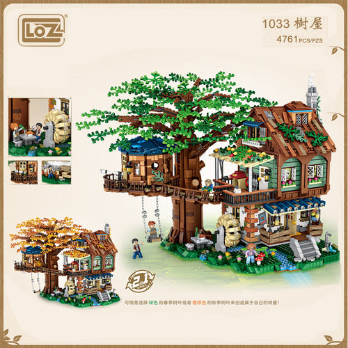 LOZ Tree House (Mini blocks) | 1033