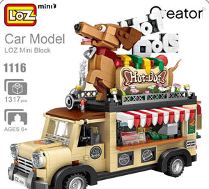 LOZ Mini Hot Dog Cart | 1116