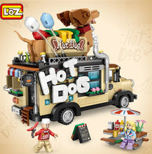 Load image into Gallery viewer, LOZ Mini Hot Dog Cart | 1116