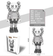 Load image into Gallery viewer, WiseHawk and CLS KAWS Nanoblocks Series