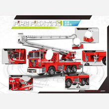Load image into Gallery viewer, Xingbao Elevating Fire Truck |XB03029