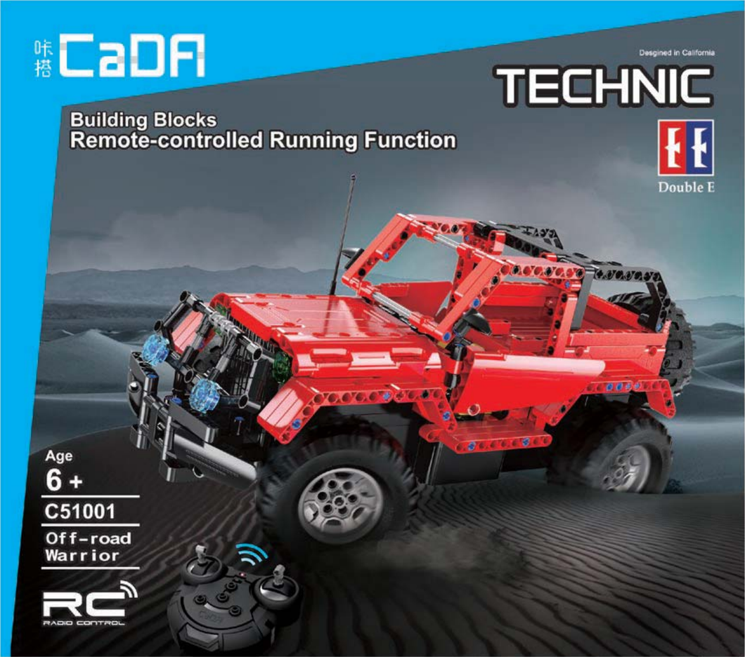 Cada Off Road Warrior | C51001