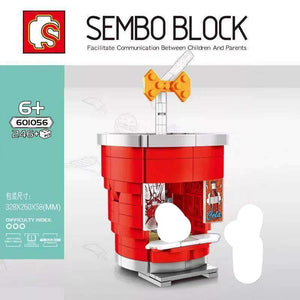 Sembo Block Food Stalls | 601055-601058