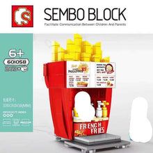 Load image into Gallery viewer, Sembo Block Food Stalls | 601055-601058