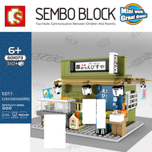 Load image into Gallery viewer, Sembo Block Japanese Food Stalls | 601069- 601074