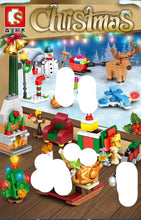 Load image into Gallery viewer, Sembo Block Christmas Sets |601090-601092, 601094