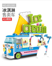 Load image into Gallery viewer, Sembo Block Ice Cream Truck | 601300