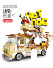 Load image into Gallery viewer, Sembo Block Hot Dog Truck|  601301