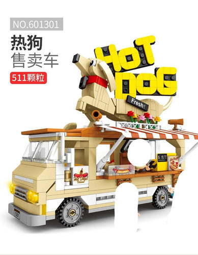 Sembo Block Hot Dog Truck|  601301