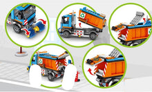 Load image into Gallery viewer, Sembo Block Trash/Dumpster Truck | 601304