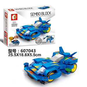 Sembo Block Famous Car | 607041-607044 [1 full set]