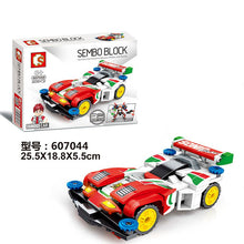 Load image into Gallery viewer, Sembo Block Famous Car | 607041-607044 [1 full set]