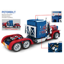 Load image into Gallery viewer, Sembo Block Peterbilt Truck | 701803