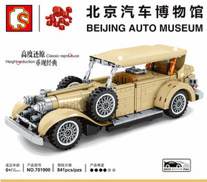 Sembo Block Vintage Car Series | 701807(9-10), 701900