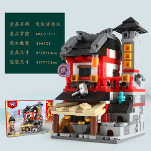 Xingbao Mini Chinatown Tang Dynasty Sets | XB01115 - XB01118