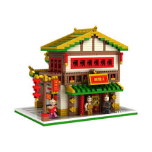 Load image into Gallery viewer, Building Stars Chinatown Series Mini (nano block size) 9909-1 - 9909-4