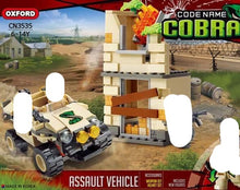 Load image into Gallery viewer, Oxford Block Code Name Cobra Series (assault vehicle) | CN3535