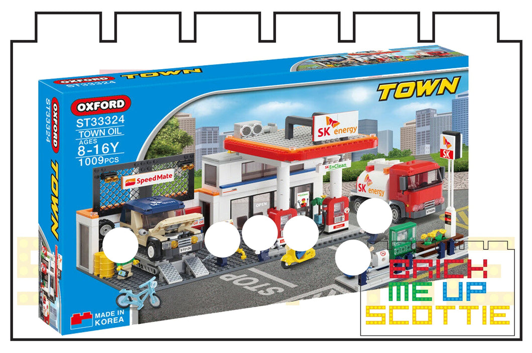 Oxford Block Town Oil | ST33324