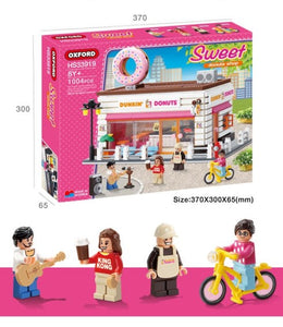 Oxford Block Sweet Dunkin Donuts Shop - HS33919