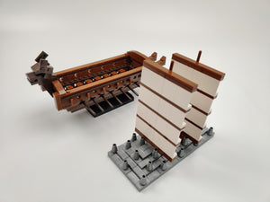 Oxford Block Mini Turtle Ship | BM3526