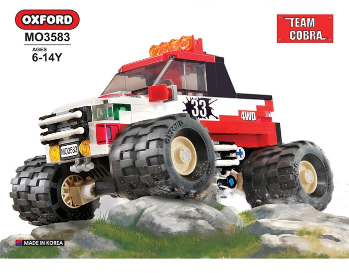 Oxford Block 4X4 Monster Truck - MO3583