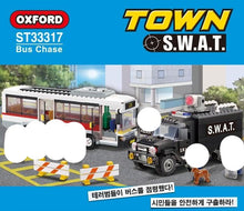 Load image into Gallery viewer, Oxford Block S.W.A.T Bus Chase | ST33317
