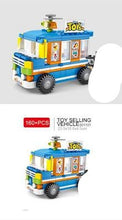 Load image into Gallery viewer, Sembo Block Various City Minifigs with Moving Stalls/Stores | 601101-601104, 601105-601108, 601200-601203