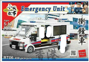 Royal Toys | Hong Kong Emergency Unit RT06