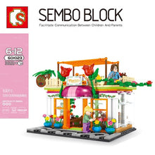 Load image into Gallery viewer, Sembo Block Mini Shops | 601017-601024