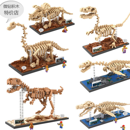 LOZ - Dino Fossil collection 9023-9028