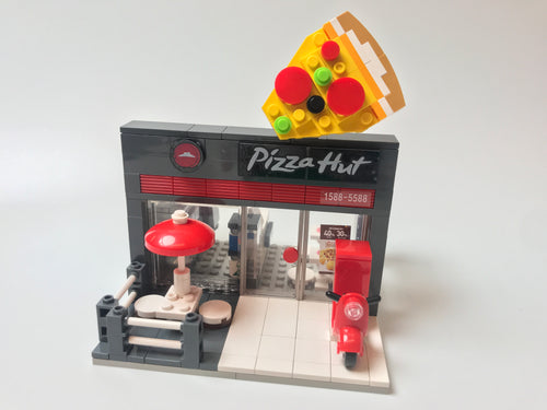Oxford Block Pizza Hut | Limited Edition