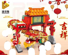Load image into Gallery viewer, Panlos Chinese New Year Dragon and Temple Set | 610006