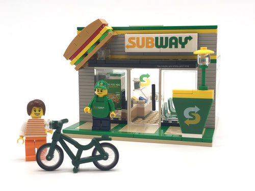 Oxford Block Subway Store | Limited Edition