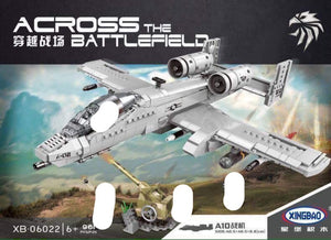 Xingbao Across the Battlefield - A10 Aircraft | XB06022