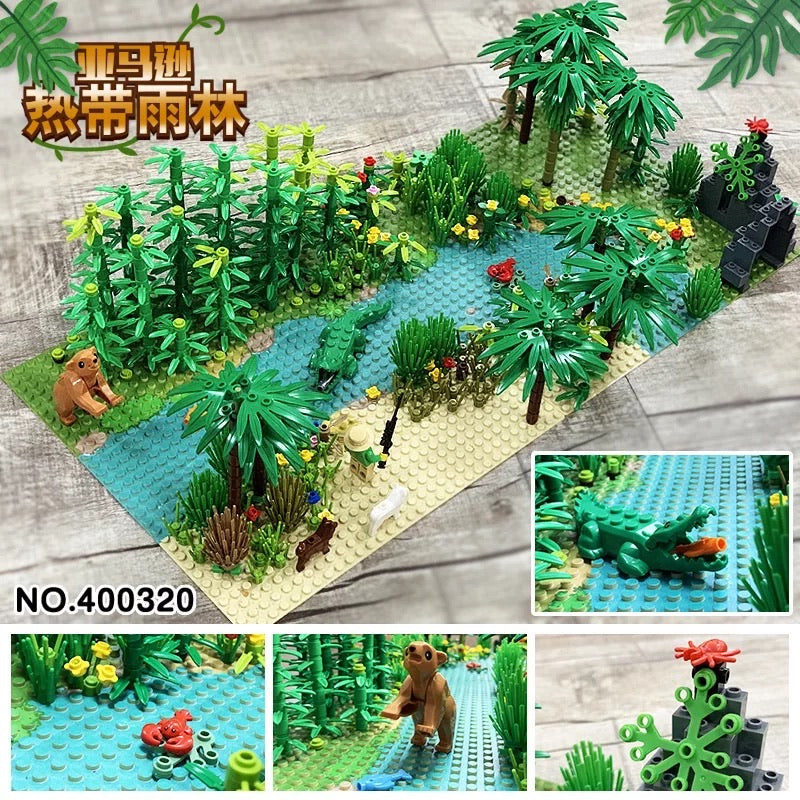 Rainforest/Jungle Set (Custom) | 400320