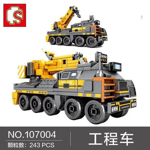 Sembo Block The Wandering Earth Trucks |107001-107009