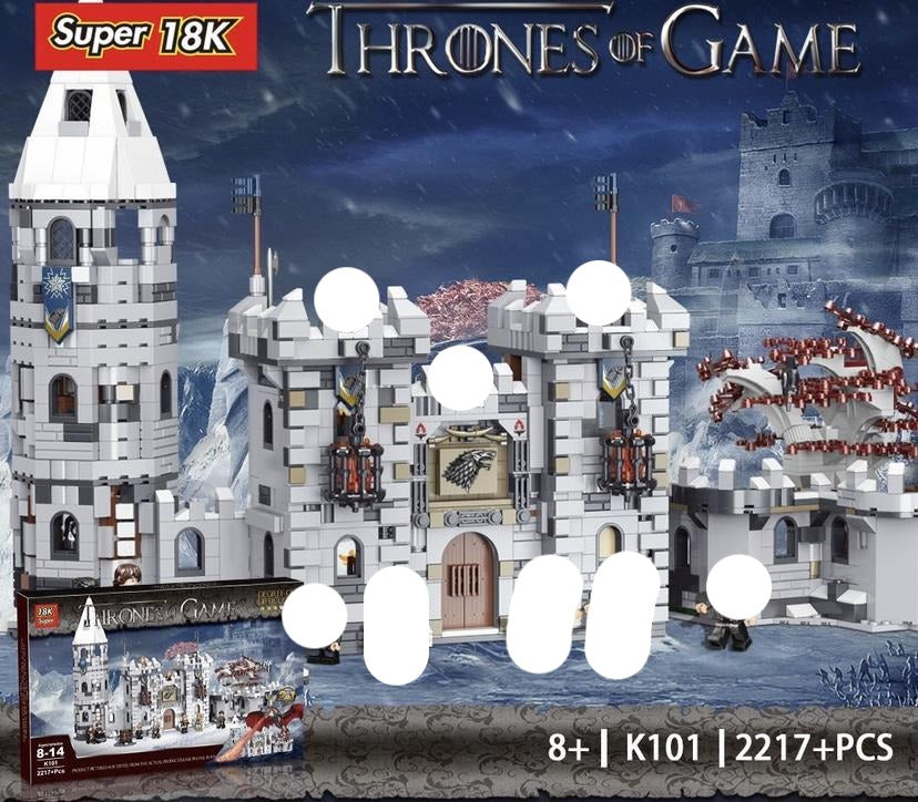 Super 18K Winterfell Castle | K101