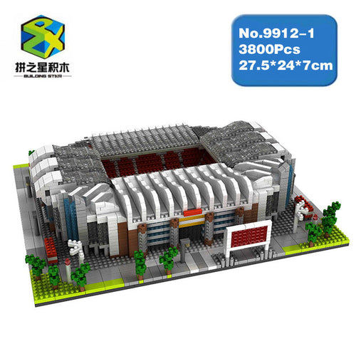 Nano Blocks Old Trafford Stadium and Stadio Giuseppe Meazza | 9912-1 / 9912-3