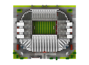 Building Stars Old Trafford Stadium and Stadio Giuseppe Meazza | 9912-1 / 9912-3