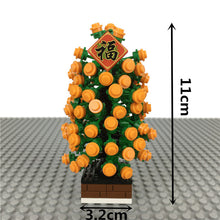 Load image into Gallery viewer, Kumquat tree with God of Wealth