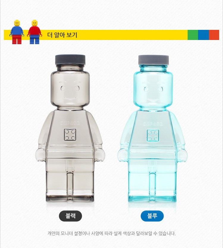 Oxford Block Water Bottle 350ml